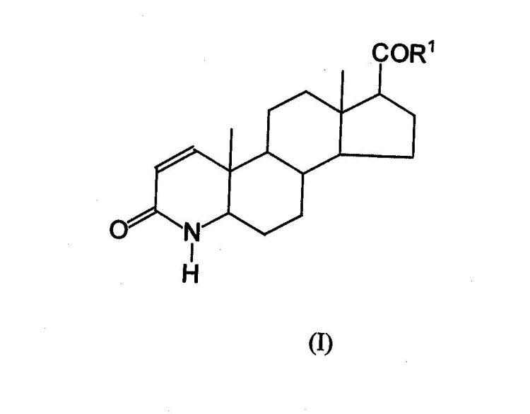 PROCEDIMIENTO PARA LA OBTENCION DE 17BETA-(SUSTITUIDO)-3-OXO-DELTA1,2-4-AZAESTEROIDES.