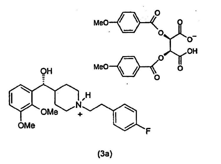 PROCESOS PARA LA PREPARACION DE (R)-G(A)-(2,3-DIMETOXIFENIL)-1-(2-( 4-FLUOROFENIL)ETIL)-4-PIPERIDINAMETANOL.