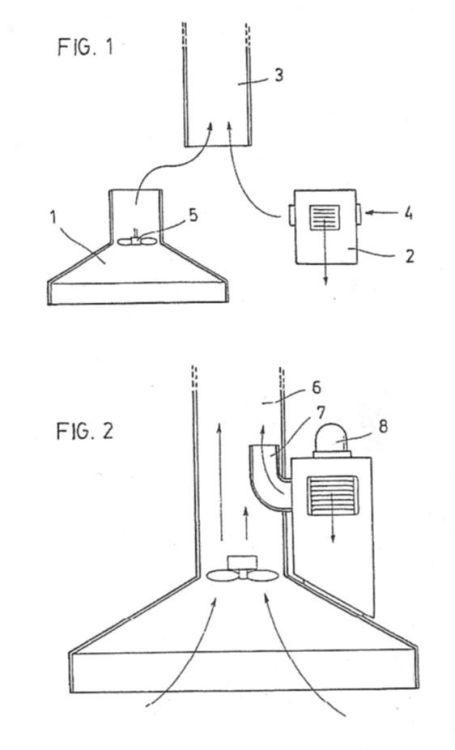 Campana extractora de humos vahos y aire enrarecido for Salida de humos campana extractora