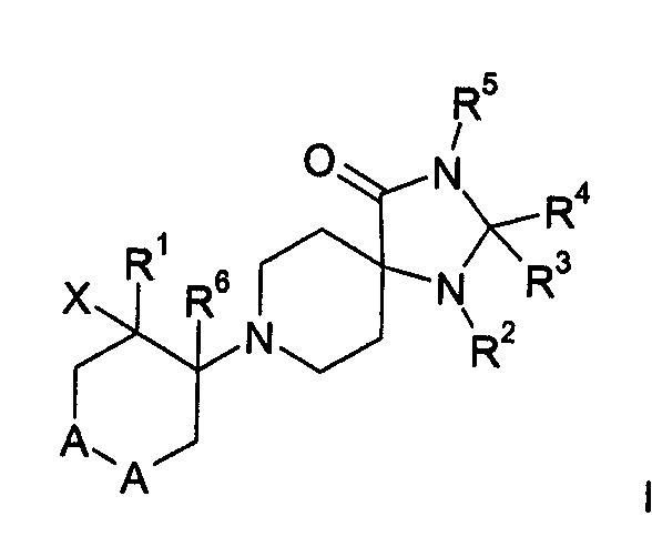 DERIVADOS DE TRIAZA-ESPIROPIPERIDINAS PARA USO COMO INHIBIDORES DE GLYT-1 EN EL TRATAMIENTO DE TRASTORNOS NEUROLOGICOS Y NEUROPSIQUIATRICOS.