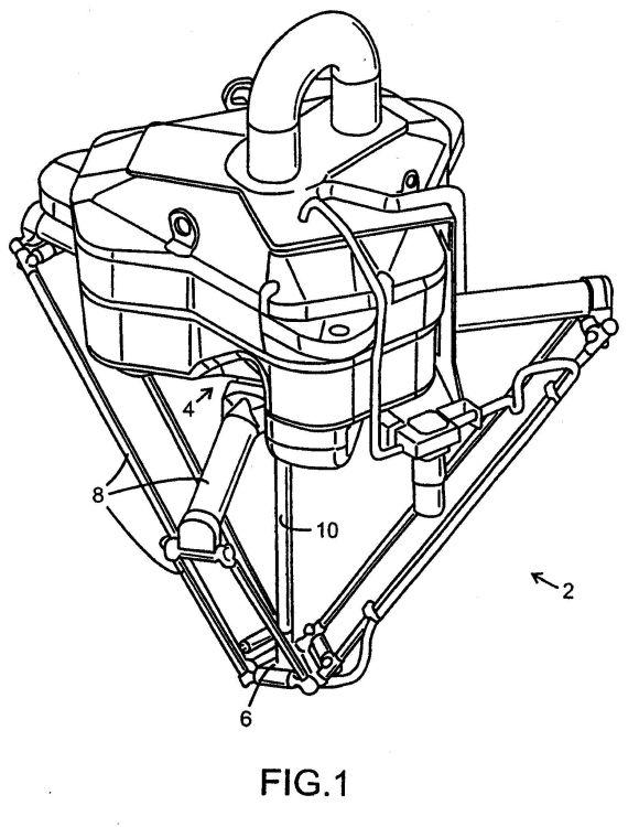 DISPOSITIVO DE ROBOT INDUSTRIAL.