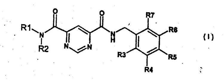 NUEVAS DIAMIDAS DEL ACIDO PIRIMIDIN-4,6-DICARBOXILICO PARA LA INHIBICION SELECTIVA DE COLAGENASAS.