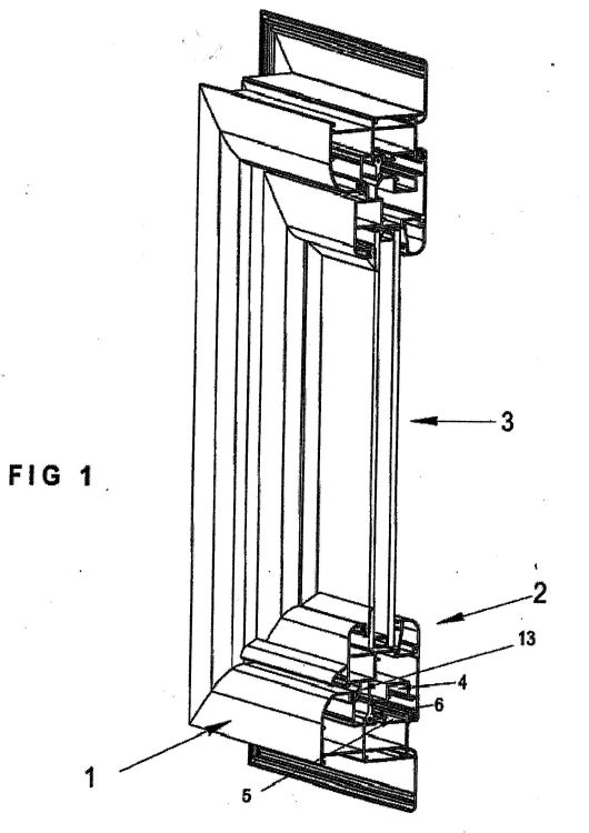Sistema para paneles de puertas y ventanas con marco de for Marcos de ventanas de aluminio