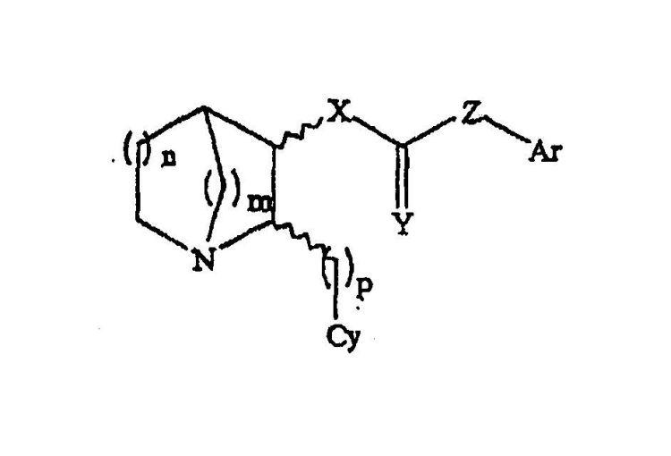 3-SUSTITUIDOS-2(ARILALQUIL)-1-AZABICICLOALCANOS Y METODOS DE USO DE LOS MISMOS.