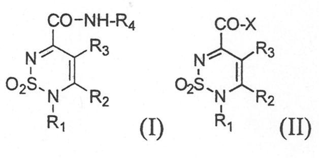 DERIVADOS DE 5-CARBOXILATO Y 5-CARBOXAMIDA 2-SUSTIUIDOS DE 1,1-DIOXO-1,2,6-TIADIAZINA CON PROPIEDADES CANNABINOIDES.