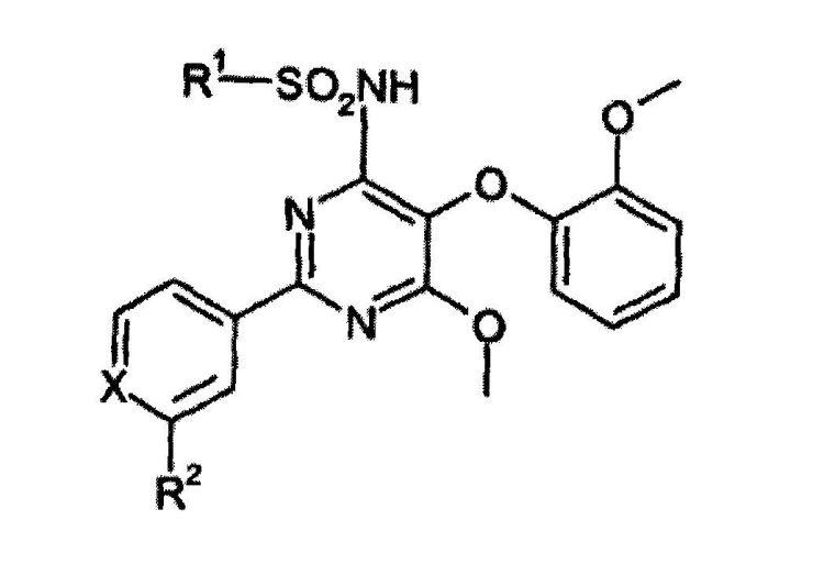 4-(HETEROCICLILSULFONAMIDO)-5-METOXI-6-(2-METOXIFENOXI)-2-FENIL O PIRIDILPIRIMIDINAS COMO ANTAGONISTAS RECEPTORES DE ENDOTELINA.