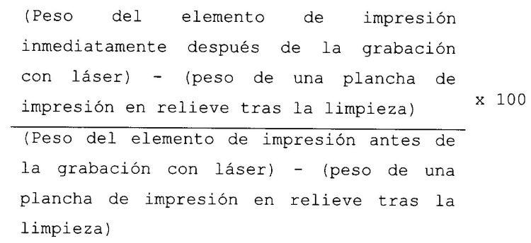 COMPUESTO DE RESINA FOTOSENSIBLE Y ELEMENTO DE IMPRESION CAPAZ DE RECIBIR GRABADO POR LASER.