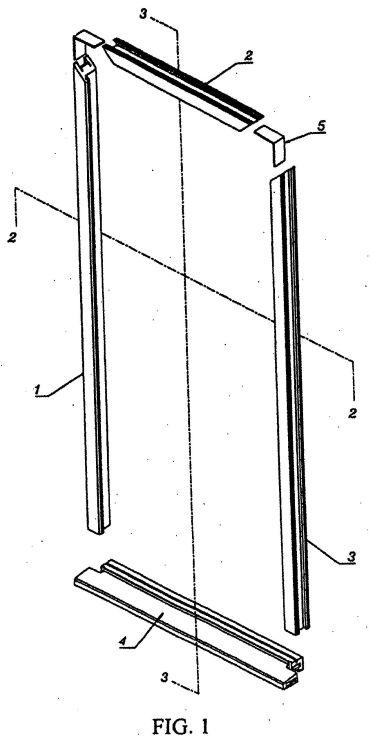 Nan ya plastics corporation 11 patentes modelos y o dise os - Montaje de puertas ...