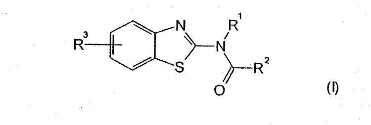2-AMINOBENZOTIAZOLES COMO AGONISTAS INVERSOS DEL RECEPTOR DE CB1.