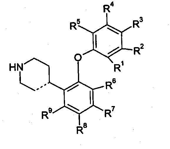 DERIVADOS DE 4-(2-FENILOXIFENIL)-PIPERIDINA O 1,2,3,6-TETRAHIDROPIRIDINA COMO INHIBIDORES DE LA RECAPTURA DE SEROTONINA.
