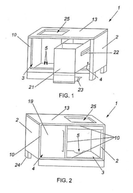 Mueble de cocina para encastre de horno for Mueble para encastrar horno y encimera