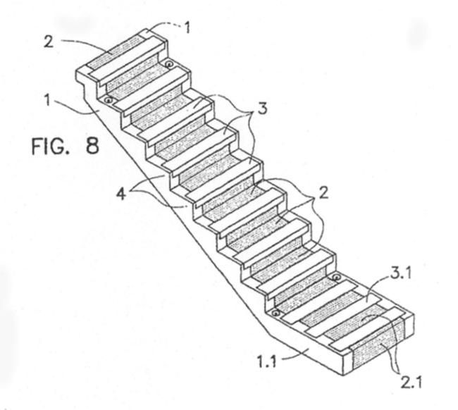 Escalera prefabricada pelda eada de hormigon armado for Escalera de hormigon con descanso