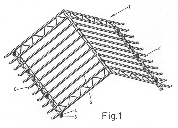 Sistema De Montaje De Una Estructura Metalica Para Cubiertas