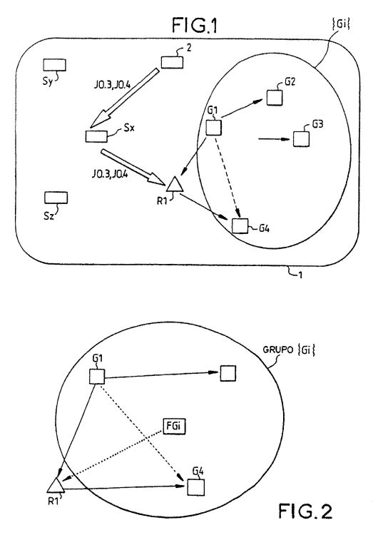 PROCEDIMIENTO PARA CONSERVAR Y/O RESTABLECER ENLACES DE COMUNICACION EN UNA RED PLANIFICADA CON COMPONENTES MOVILES.