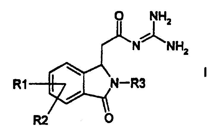PROCEDIMIENTO PARA LA PREPARACION DE DERIVADOS DE (3-OXO-2,3-DIHIDRO-1H-ISOINDOL-1-IL)-ACETILGUANIDINA.
