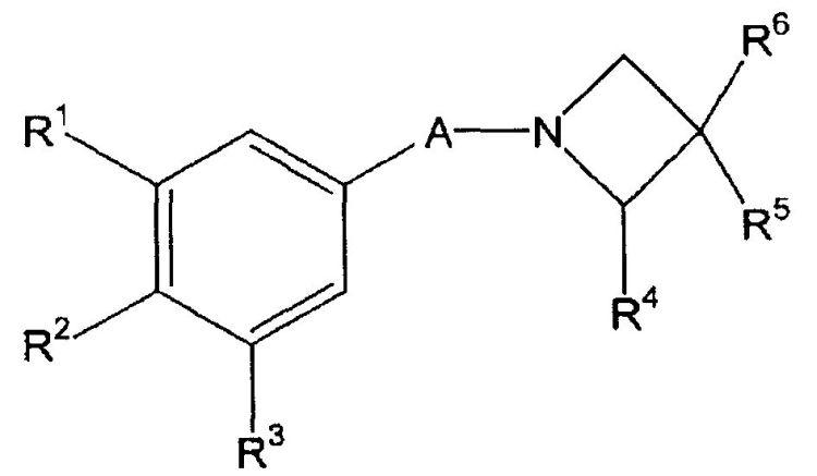 COMPUESTOS DE AZETIDINA SUSTITUIDOS UTILES COMO INHIBIDORES DE CICLOOXIGENASA-1-CICLOOXIGENASA-2, Y SU PREPARACION Y USO COMO MEDICAMENTOS.