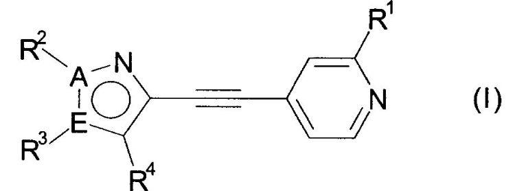 PIRIDIN-4-IL-ETINIL-IMIDAZOLES Y PIRAZOLES COMO ANTAGONISTAS RECEPTORES DE MGLUR5.