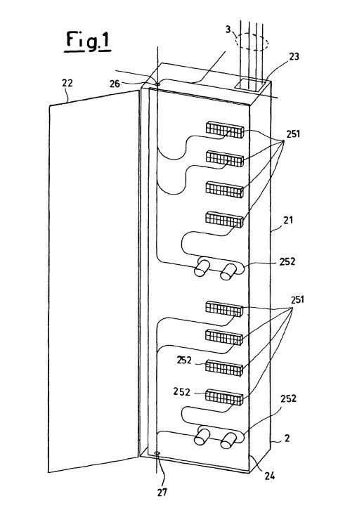 Sirti s p a 13 patentes modelos y o dise os for Caja de distribucion