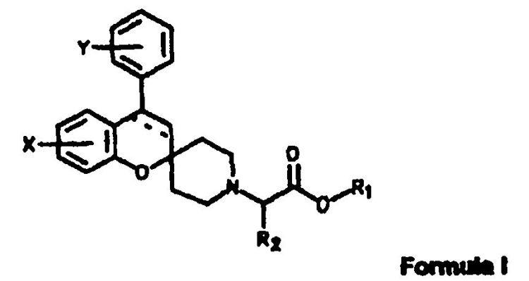 DERIVADOS DE ESPIRO(2H-1-BENZOPIRAN-2,4-PIPERIDINA) COMO INHIBIDORES DE TRANSPORTE DE GLICINA.