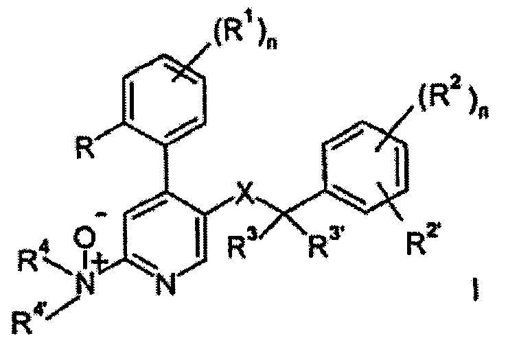N-OXIDOS COMO PROFARMACOS DE DERIVADOS DE 4-FENIL-PIRIDINA ANTAGONISTAS DEL RECEPTOR NK1.