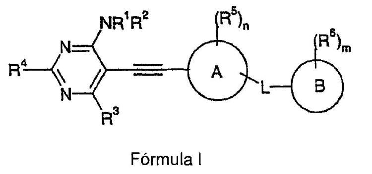 PIRIMIDINAS CON ACTIVIDAD TIE2(TEK).
