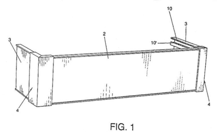 Dispositivo para cubrir y embellecer rieles y o barras - Barras dobles para cortinas ...