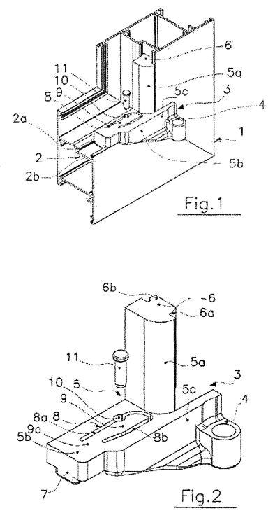 Bisagra para puertas o ventanas en perfiles metalicos 1 for Perfiles de estanterias metalicas