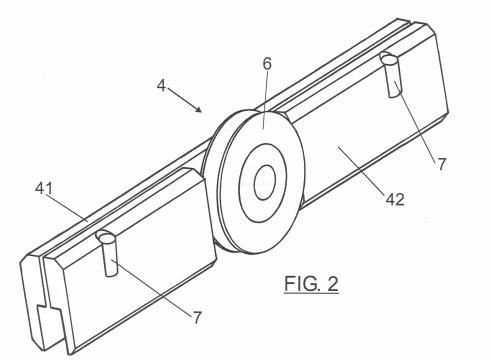 Mecanismo para una hoja de vidrio corredera - Mecanismo puerta corredera ...