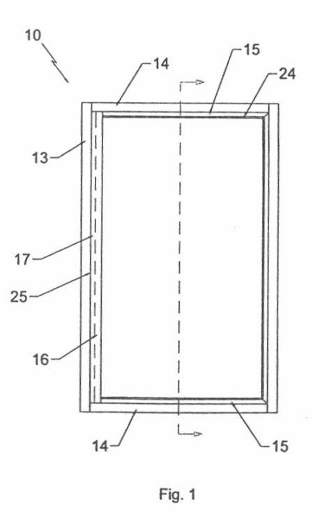 Disposicion para bisagra de seguridad en bastidores para - Bisagras puertas metalicas ...