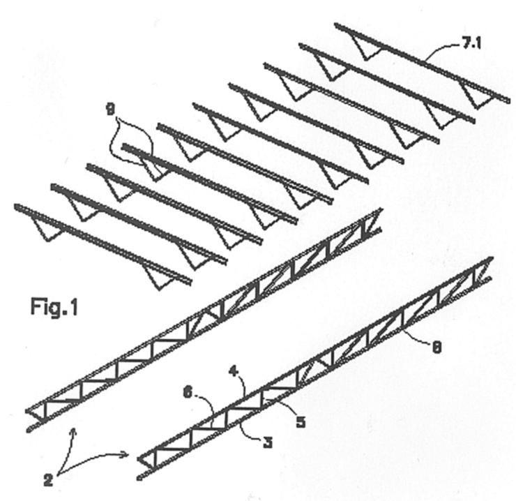 Estructura metalica espacial de cubierta de nave industrial - Estructura metalica cubierta ...