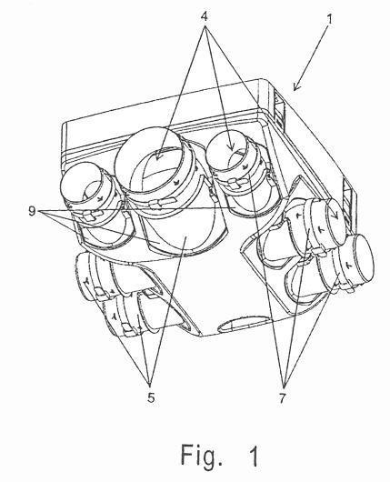 Dispositivo de ventilacion mecanica controlada con toberas - Ventilacion mecanica controlada ...