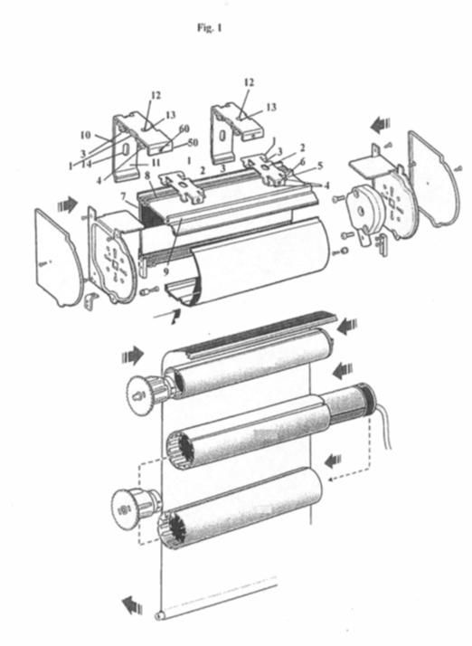 Elementos de anclaje para mecanismos de estores y cortinas - Mecanismo estores enrollables ...
