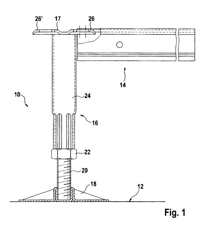 Estructura de soporte para conjunto de suelo elevado for Piso tecnico detalle