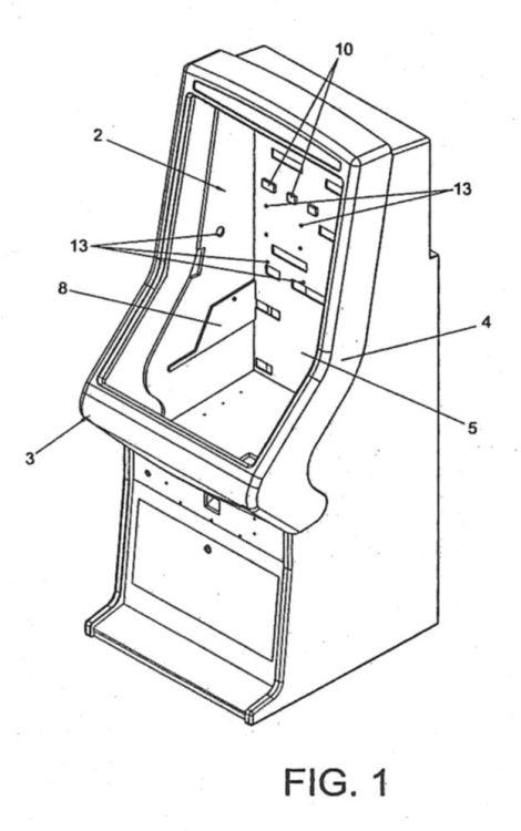 Mueble para maquinas recreativas 1 for Mueble maquina recreativa