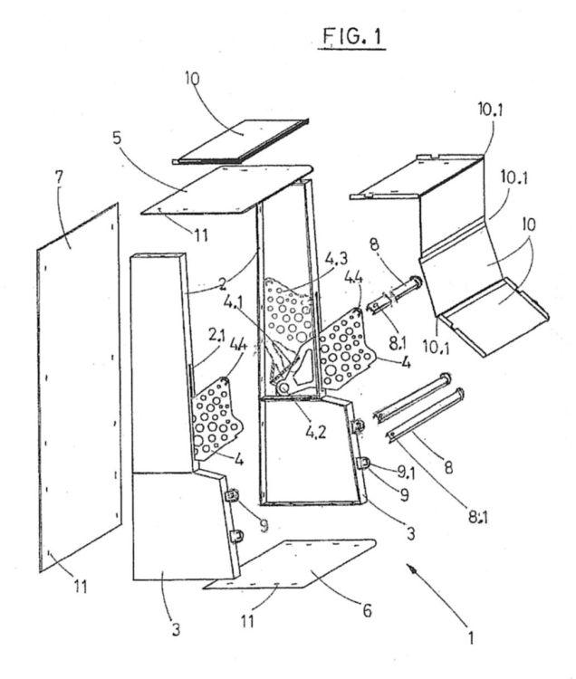 Mueble protector antirrobo para maquinas recreativas for Mueble maquina recreativa