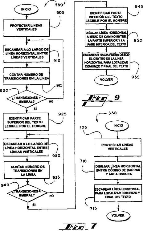 SISTEMA Y PROCEDIMIENTO PARA DESCODIFICAR CODIGOS DE BARRAS ASISTIDO CON OCR.