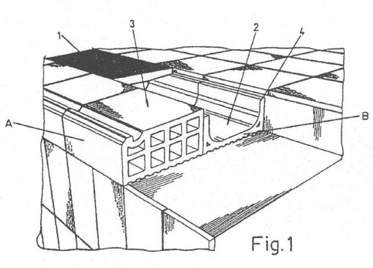 Sistema para la construccion de bordes de piscinas for Bordes decorativos para piscinas