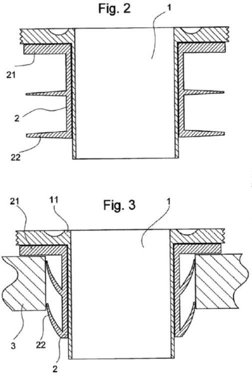 Dispositivo para el montaje de un mecanismo de descarga en - Mecanismo de cisterna ...