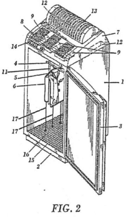 Perfeccionamientos introducidos en la solicitud de patente - Planchadora de camisas ...