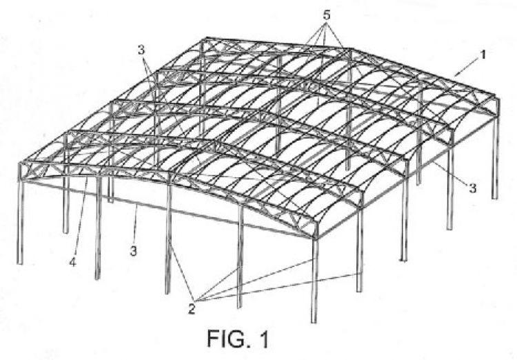Estructura para construccion de cubiertas - Cerchas metalicas para cubiertas ...