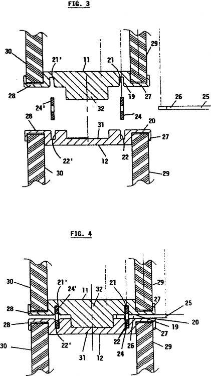 Montaje de poste para paredes separadoras for Paredes separadoras