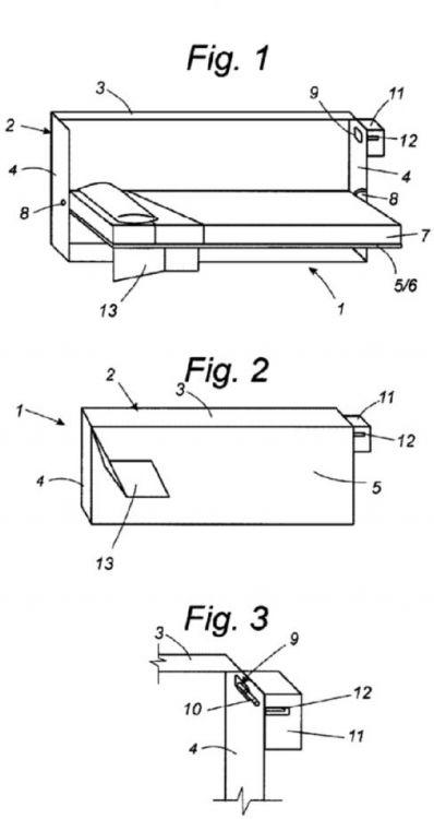 Cama plegable con dispositivo de apertura accionable for Mecanismo cama abatible