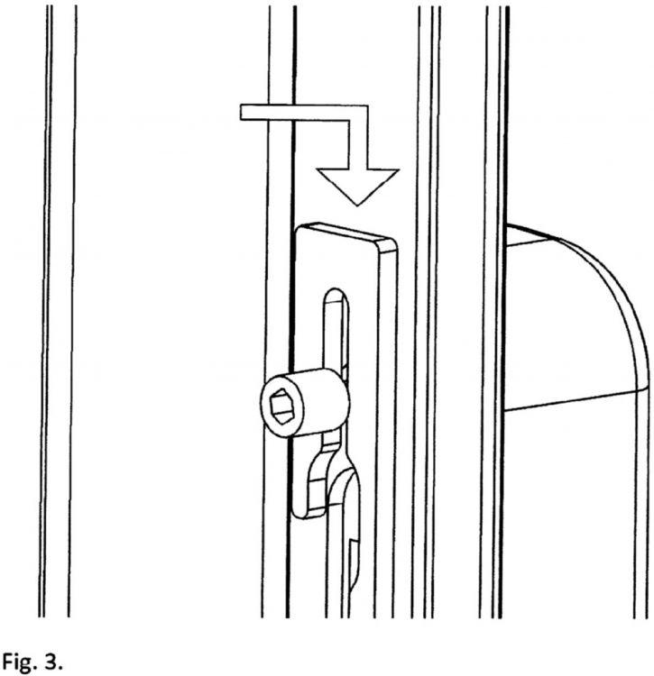Dispositivo para fijacion rapida de mecanismos de apertura for Apertura puertas