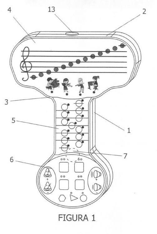 LECTOR MUSICAL DEL PENTAGRAMA INFANTIL.