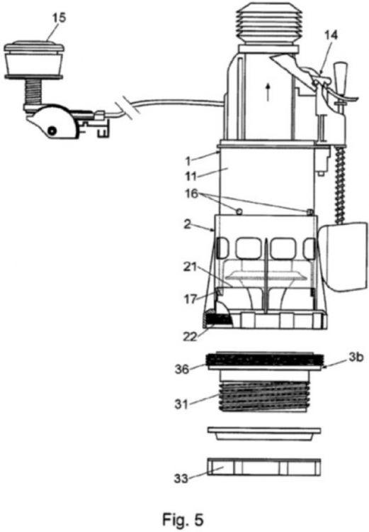 Mecanismo de descarga para cisternas - Mecanismo de cisterna ...