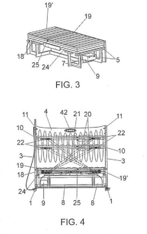 Camas de niños (camas en general A47C) : Patentados.com