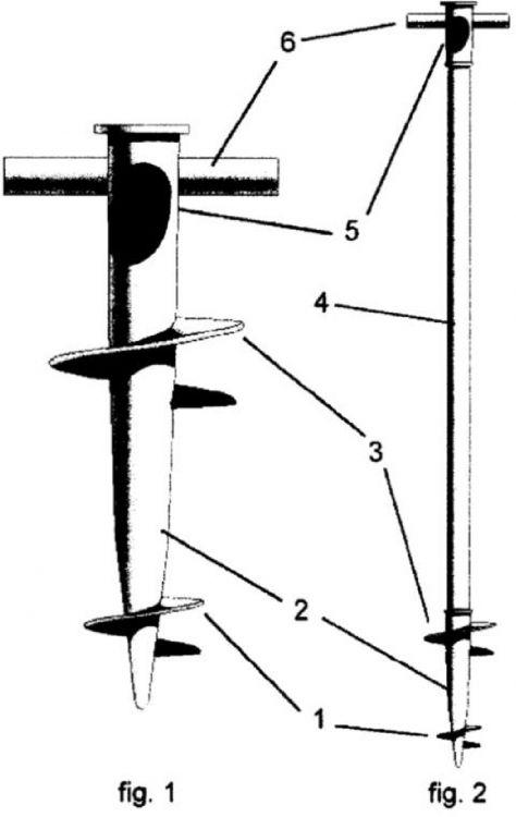 Soporte base para sombrillas y similares en el suelo - Base para sombrilla ...