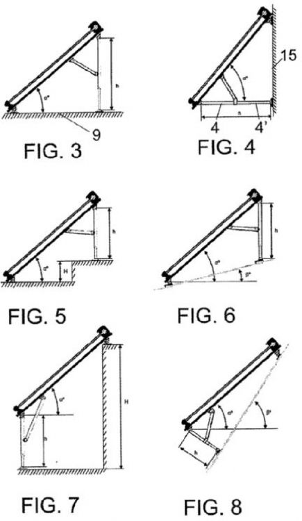 Soporte Para Paneles Solares 2 Patentados Com