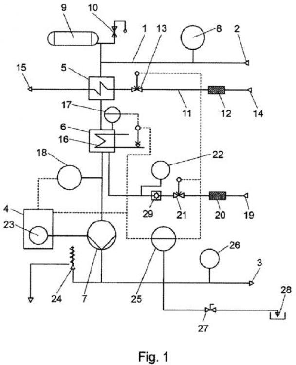Circuito Hidraulico : Atemperador hidraulico de circuito cerrado patentados