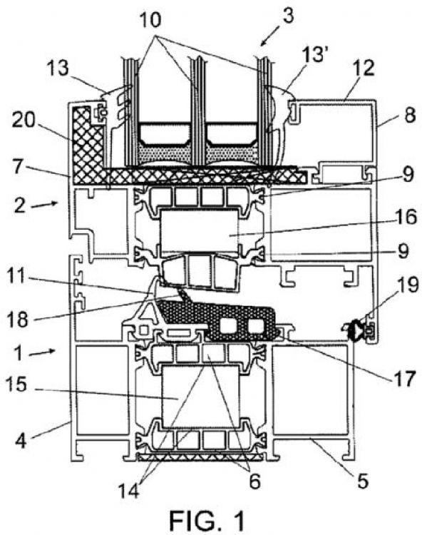 Carpinteria metalica para cerramientos con rotura de - Detalle carpinteria aluminio ...